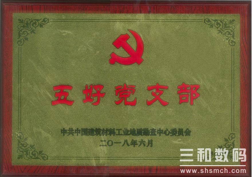 中国建材地勘中心五好党支部(2018)